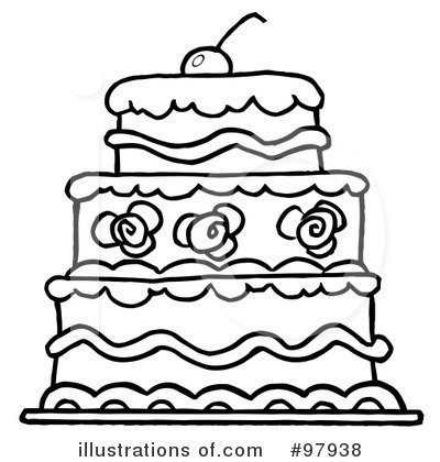 Cake Clipart 97938 Illustration By Hit Toon