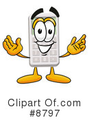 Calculator Clipart #8797 by Toons4Biz