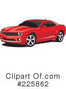 Camaro Clipart #225862 by David Rey