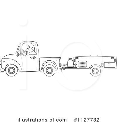 Royalty Free RF Camper Clipart Illustration 1127732 By Djart