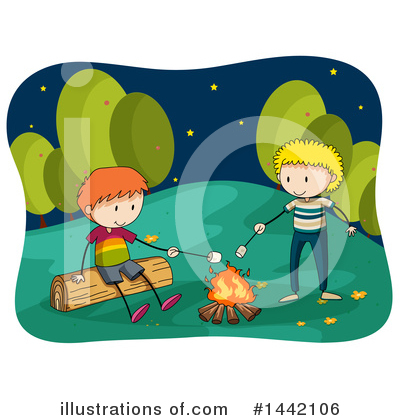 Campfire Clipart #1442106 by Graphics RF