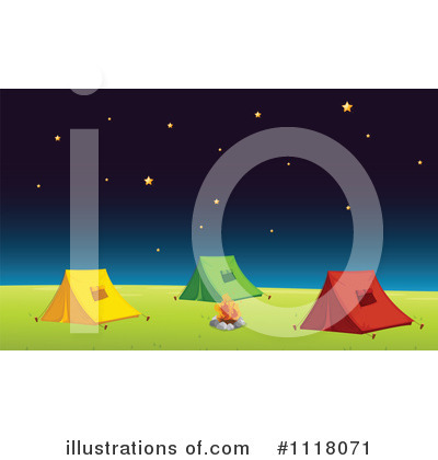 Camping Clipart #1118071 by Graphics RF