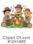 Camping Clipart #1241885 by visekart