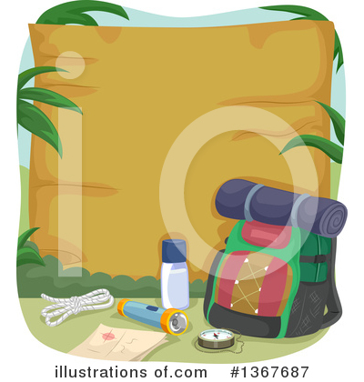 Camping Clipart #1367687 by BNP Design Studio