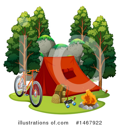 Campfire Clipart #1467922 by Graphics RF