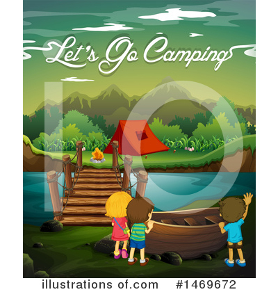 Camping Clipart #1469672 by Graphics RF