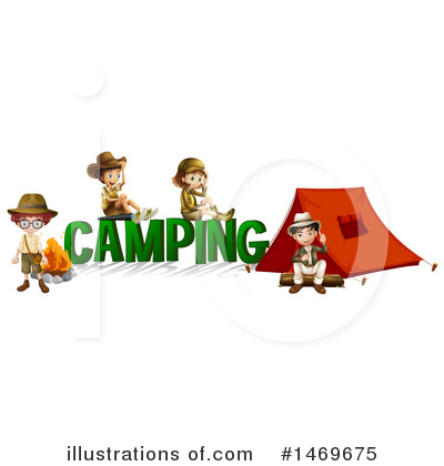 Camping Clipart #1469675 by Graphics RF
