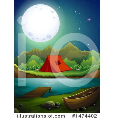Camping Clipart #1474402 by Graphics RF