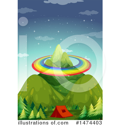 Camping Clipart #1474403 by Graphics RF