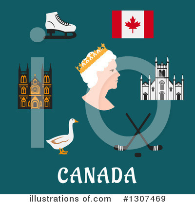 Canada Clipart #1307469 by Vector Tradition SM