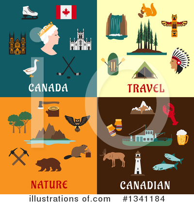 Canada Clipart #1341184 by Vector Tradition SM