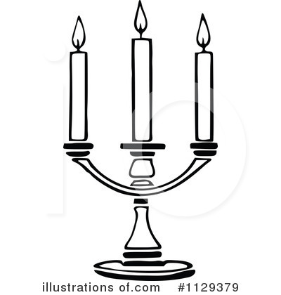 Candle Clipart #1129379 - Illustration by Prawny Vintage