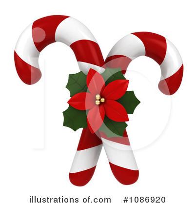 Candy Cane Clipart #1086920 - Illustration by BNP Design Studio