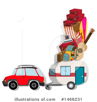 Camping Clipart #1466231 by Graphics RF