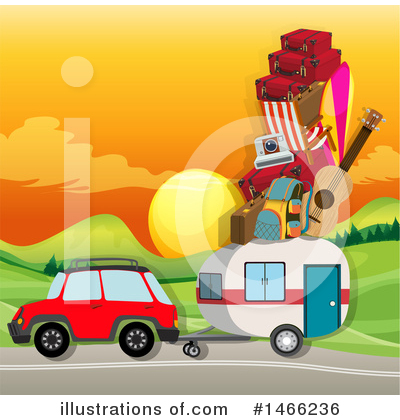 Camping Clipart #1466236 by Graphics RF