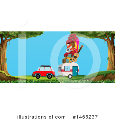 Camping Clipart #1466237 by Graphics RF