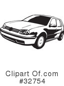 Car Clipart #32754 by David Rey