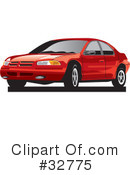 Car Clipart #32775 by David Rey