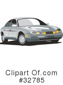 Car Clipart #32785 by David Rey
