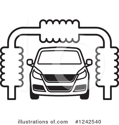 Car Wash Clipart 1242540 Illustration By Lal Perera