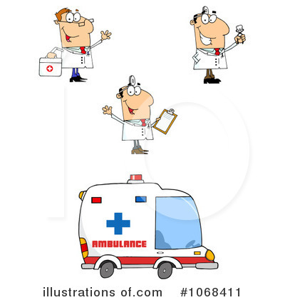 Career Clipart #1068411 - Illustration by Hit Toon