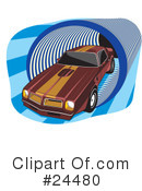 Cars Clipart #24480 by David Rey