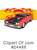 Cars Clipart #24486 by David Rey