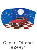 Cars Clipart #24491 by David Rey