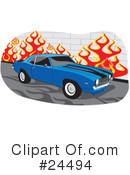 Cars Clipart #24494 by David Rey