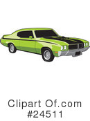 Cars Clipart #24511 by David Rey