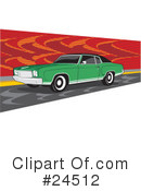 Cars Clipart #24512 by David Rey