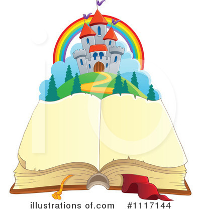 Open Book Clipart #1117144 by visekart