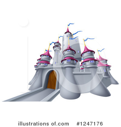 Fortress Clipart #1247176 by AtStockIllustration