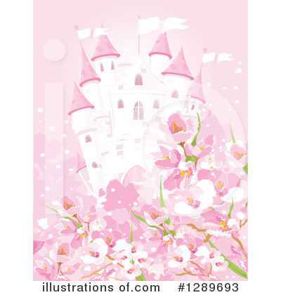 Cherry Blossoms Clipart #1289693 by Pushkin