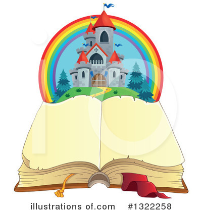 Open Book Clipart #1322258 by visekart