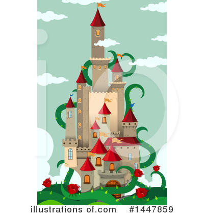 Castle Clipart #1447859 by Graphics RF