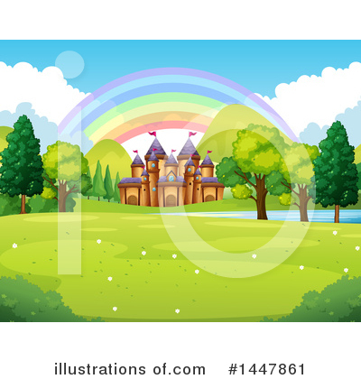 Royalty-Free (RF) Castle Clipart Illustration by Graphics RF - Stock Sample #1447861