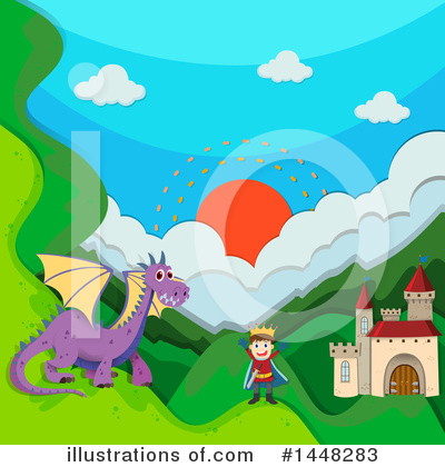 Castle Clipart #1448283 by Graphics RF