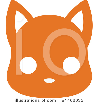Royalty-Free (RF) Cat Clipart Illustration by Pushkin - Stock Sample #1402035