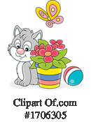 Cat Clipart #1706305 by Alex Bannykh
