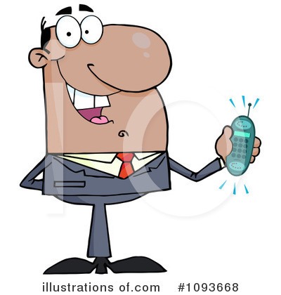 Businessman Clipart #1093668 by Hit Toon
