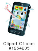 Cell Phone Clipart #1254235 by AtStockIllustration