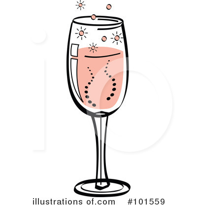 Royalty-Free (RF) Champagne Clipart Illustration by Andy Nortnik ...