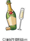 Champagne Clipart #1719992 by Any Vector