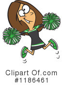 Cheerleader Clipart #1186461 by toonaday