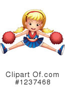 Cheerleader Clipart #1237468 by Graphics RF
