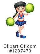 Cheerleader Clipart #1237470 by Graphics RF