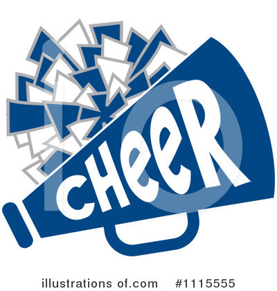 Royalty-Free (RF) Cheerleading Clipart Illustration by Johnny Sajem - Stock Sample #1115555