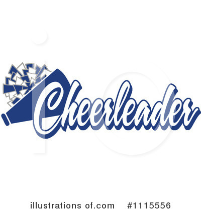 Cheerleading Clipart #1115556 by Johnny Sajem