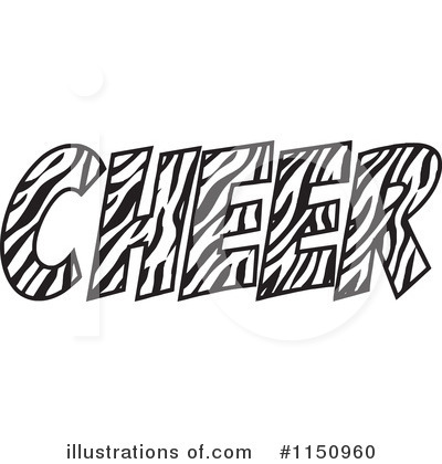 Cheerleading Clipart #1150960 by Johnny Sajem